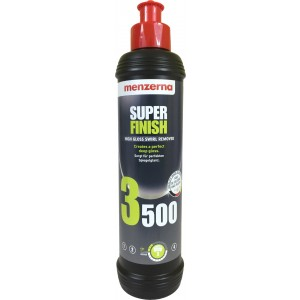 Lustrador Super Finish 250ml - 3500 / SF4000 - Menzerna