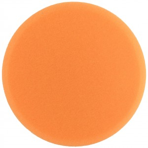 "Boina de Espuma Agressiva Laranja 7,5"" com Velcro - 680R - Buff and Shine"