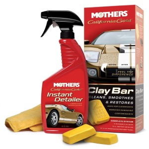 Kit Clay Bar com 2 Barras, Flanela e Showtime Lubrificante - 7240 - Mothers