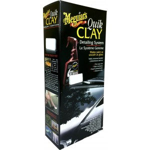 Kit Quik Clay Bar + Tok Final para Descontaminação - G1116 - Meguiars