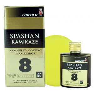 Coating de Nano Sílica 30ml - Spashan Kamikaze - Lincoln