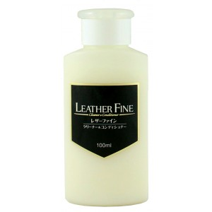 Hidratante de Couro Premium 100ml - Leather Fine - Soft99