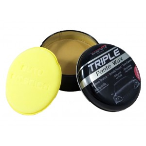 Cera Automotiva Triple Paste Wax 100g com Aplicador - Autoamerica