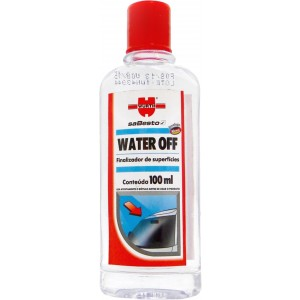 Repelente de Chuva Cristalizador de Vidros 100ml - Water Off - WüRTH