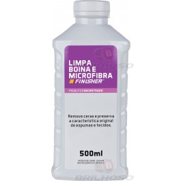 Shampoo Limpa Boina e Microfibra Concentrado 500ml - Finisher