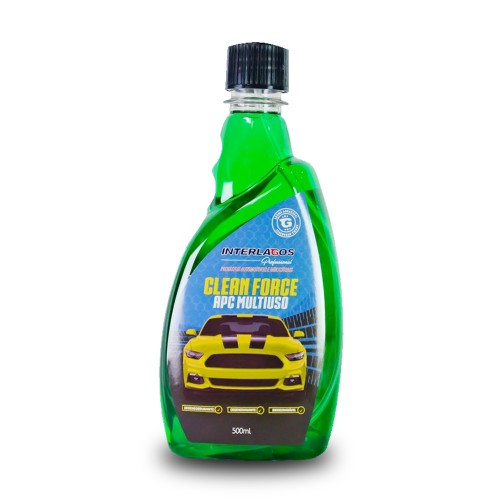 Limpador APC Multiuso 500ml - Clean Force - Interlagos