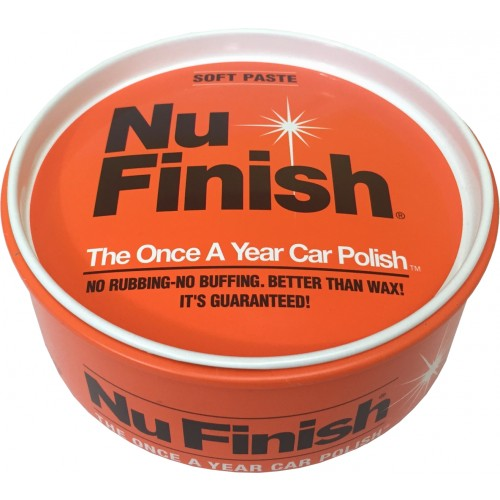 Selante Car Polish em Pasta 397g - Soft Paste - Nu Finish