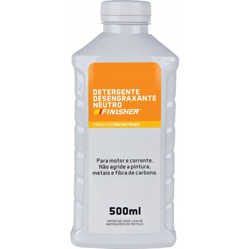Detergente Desengraxante Neutro Concentrado 500ml - Finisher