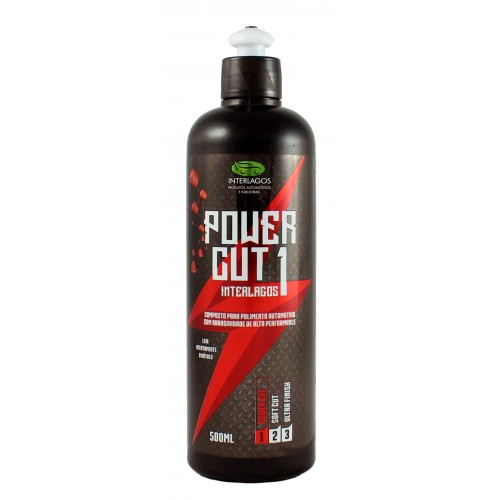 Polidor 500ml Nova Fórmula - Power Cut 1 - Interlagos