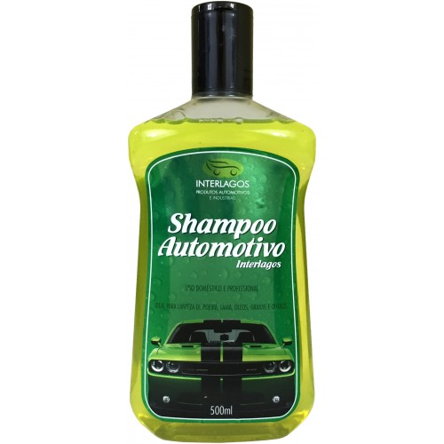 Shampoo Automotivo 500ml 1/100 - Interlagos