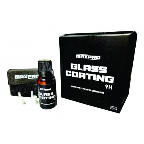 Vitrificador 20ml - Glass Coating 9H - Maxpro